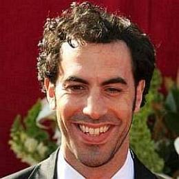 Sacha Baron Cohen Wife dating